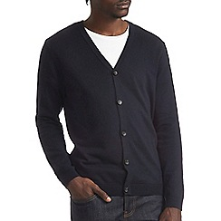 Burton - Navy knitted cardigan