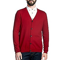 Burton - Red knitted cardigan