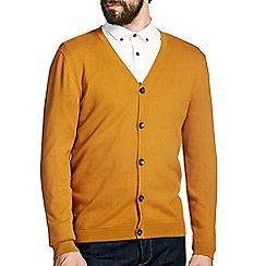 Burton - Mustard knitted cardigan