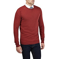 Burton - Rust red crew neck jumper