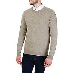 Burton - Oatmeal crew neck jumper