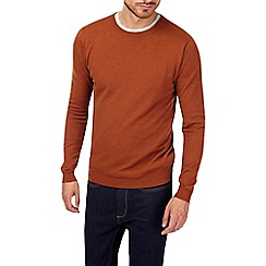 Burton - Ginger crew neck jumper