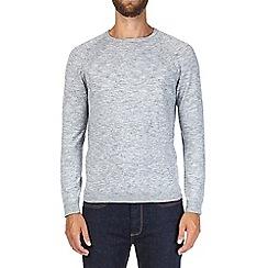 Burton - Grey crew neck jumper