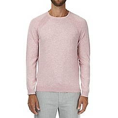 Burton - Dusty pink crew neck jumper