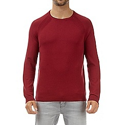 Burton - Red crew neck jumper