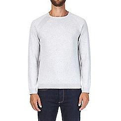 Burton - Light grey crew neck jumper