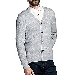 Burton - Grey texture cardigan
