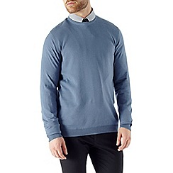 Burton - Blue crew neck jumper