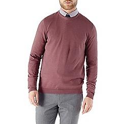 Burton - Dusky pink crew neck jumper