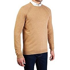 Burton - Camel crew neck jumper