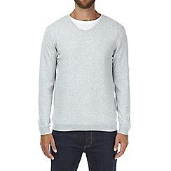 Burton - Grey v-neck jumper