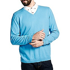 Burton - Light blue v-neck jumper*