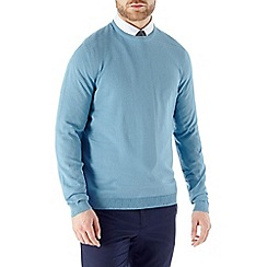 Burton - Spring blue crew neck jumper