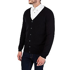 Burton - Black cardigan jumper