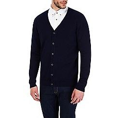 Burton - Navy cardigan jumper