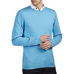 Burton - Sky blue crew neck jumper