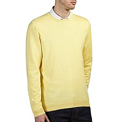 Burton - Corn yellow crew neck jumper