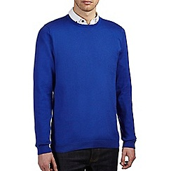 Burton - Bright blue crew neck jumper