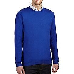 Burton - Bright blue crew neck jumper