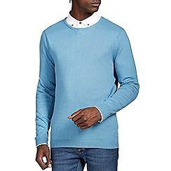 Burton - Light blue crew neck jumper