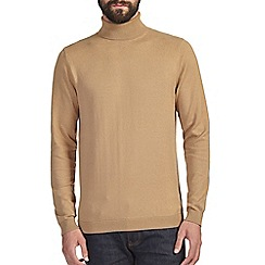 Burton - Caramel roll neck jumper*