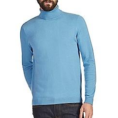 Burton - Light blue roll neck jumper