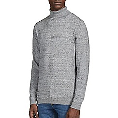 Burton - Grey roll neck jumper*