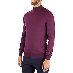 Burton - Montague burton teal turtle neck jumper