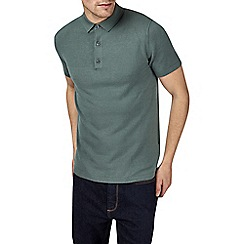 Burton - Green knitted polo shirt