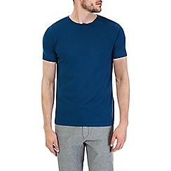 Burton - Blue short sleeve knitted t-shirt