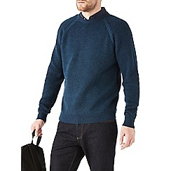 Burton - Blue fisherman jumper