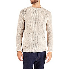 Burton - Oatmeal turtle neck jumper