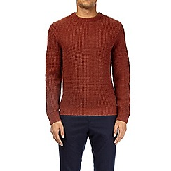 Burton - Orange crew knit jumper