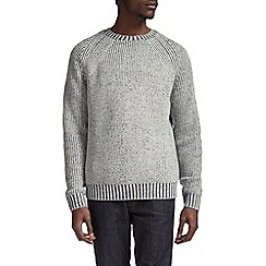 Burton - Grey fisherman jumper