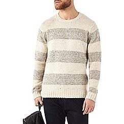 Burton - Oatmeal stripe jumper
