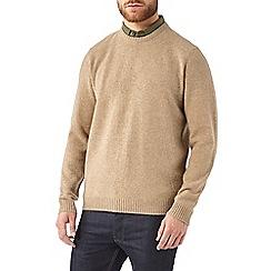 Burton - Camel pure lambswool jumper