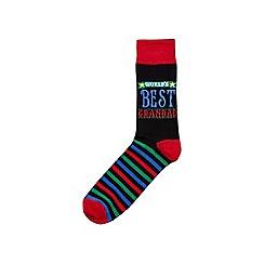 Burton - World's best grandad socks