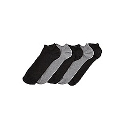 Burton - 5 pack grey trainer liners