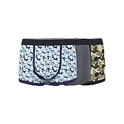 Burton - 3 pack camo hipsters