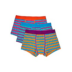 Burton - 3 pack bright stripe hipsters