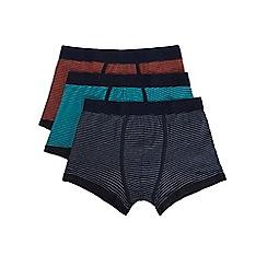 Burton - 3 pack fine stripe hipster