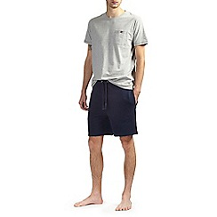 Burton - Grey short sleeve loungewear set