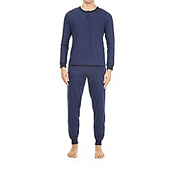 Burton - Navy striped pyjama set
