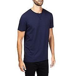 Burton - Montague burton navy premium modal crew neck t-shirt