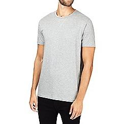Burton - Montague burton grey premium modal crew neck t-shirt