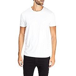 Burton - Montague burton premium white modal t-shirt