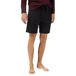 Burton - Montague burton premium black modal shorts