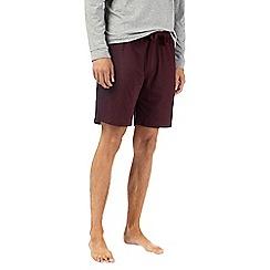 Burton - Montague burton burgundy premium modal shorts