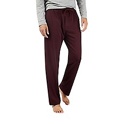 Burton - Montague burton burgundy premium modal lounge joggers
