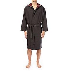 Burton - Grey jersey robe